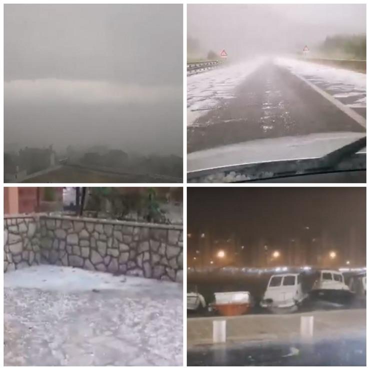 Hrvatska, oluja