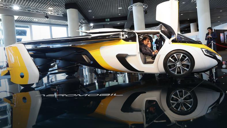 AeroMobil Flying Car ma kosztować 1,2-1,5 miliona euro