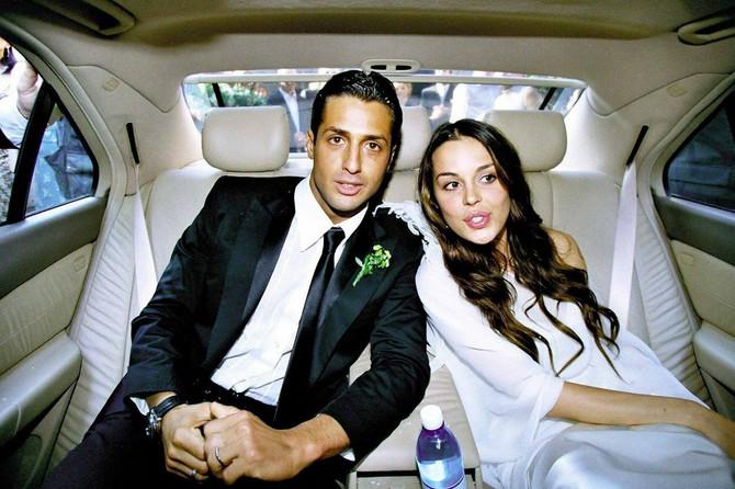 Nina se 2001. godine udala za poznatog italijanskog biznismena