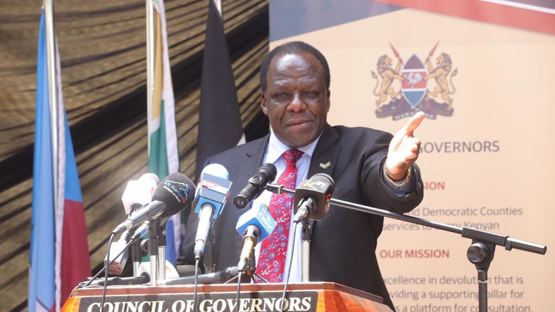 Council of Governors chair Wycliffe Oparanya