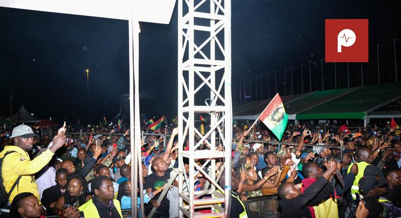 Images from the Richie Spice Concert at KICC (Pulselive Kenya)
