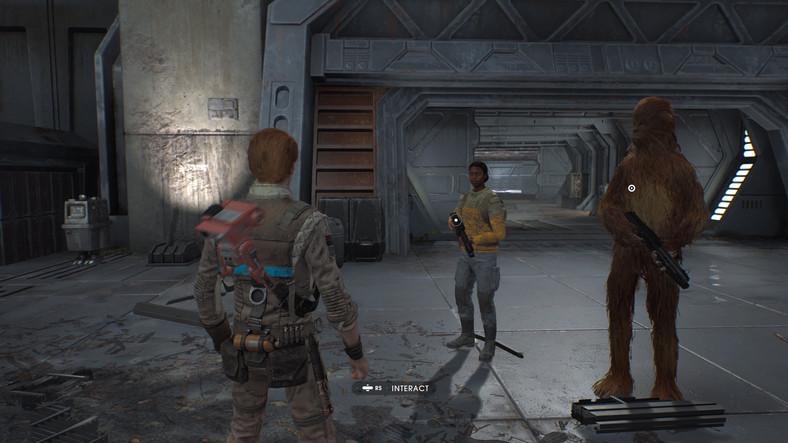 Wookie wygląają w grze dość... dziwnie
