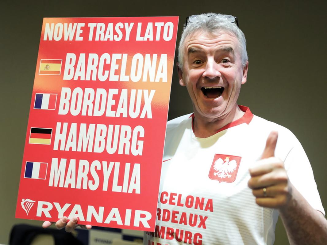 Michael O'Leary, CEO Ryanair