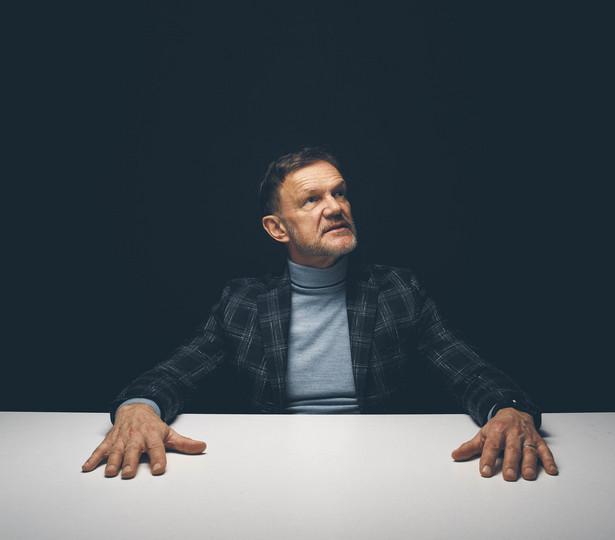 Cezary Pazura - aktor filmowy i teatralny, artysta kabaretowy, reżyser, youtuber. Cezary Pazura fot. Darek Golik