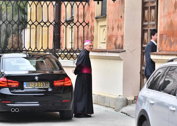 Ambasador Vatikana Surija stiže u Vladičanski dvor