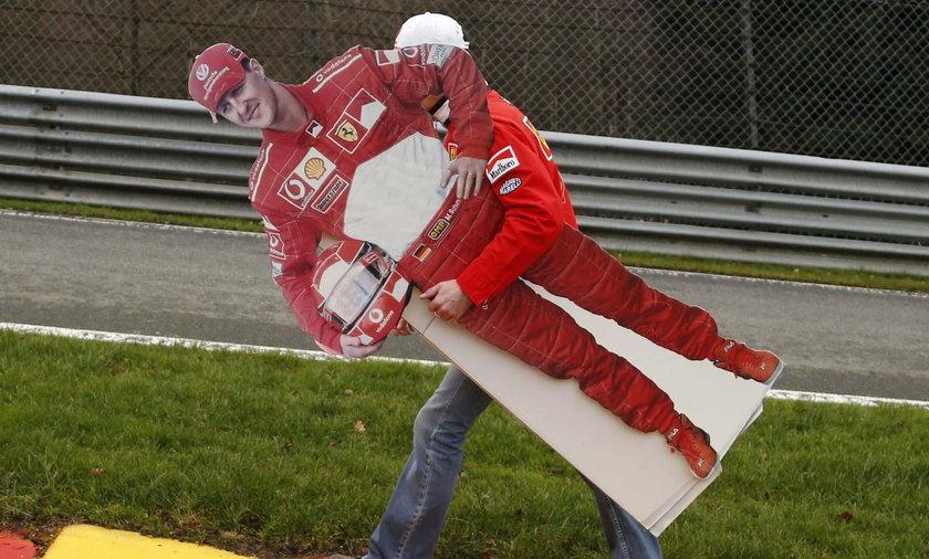 Czekają na śmierć Schumachera