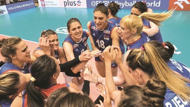 Ženska odbojkaška reprezentacija Srbije slavi plasman na Olimpijske igre 2020.