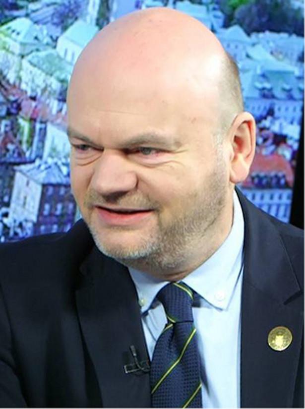 Marcin K. Schirmer, prezes zarządu głównego Polskiego Towarzystwa Ziemiańskiego