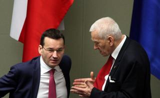 K. Morawiecki: oczekuję, że expose syna wzniesie się ponad partyjne podziały