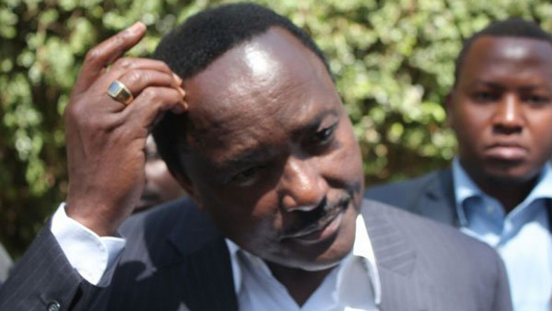 File image of Wiper party leader Kalonzo Musyoka