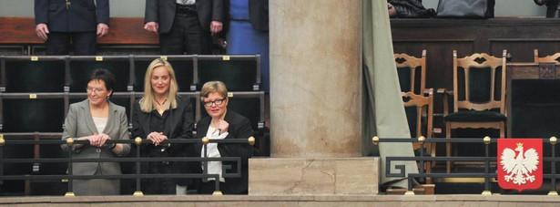 Sharon Stone w polskim Sejmie