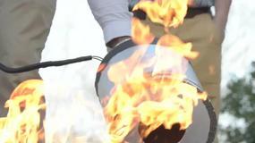 Ugasić ogień dźwiękiem