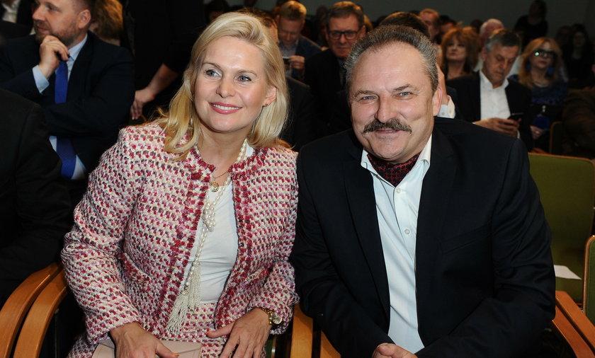Irmina Ochenkowska z partnerem życiowym, Markiem Jakubiakiem