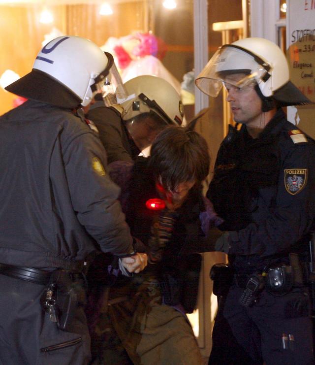 Bečka policija, ilustracija