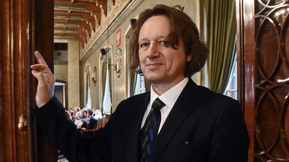 Prof. dr hab. Ryszar Koziołek, rektor UŚ