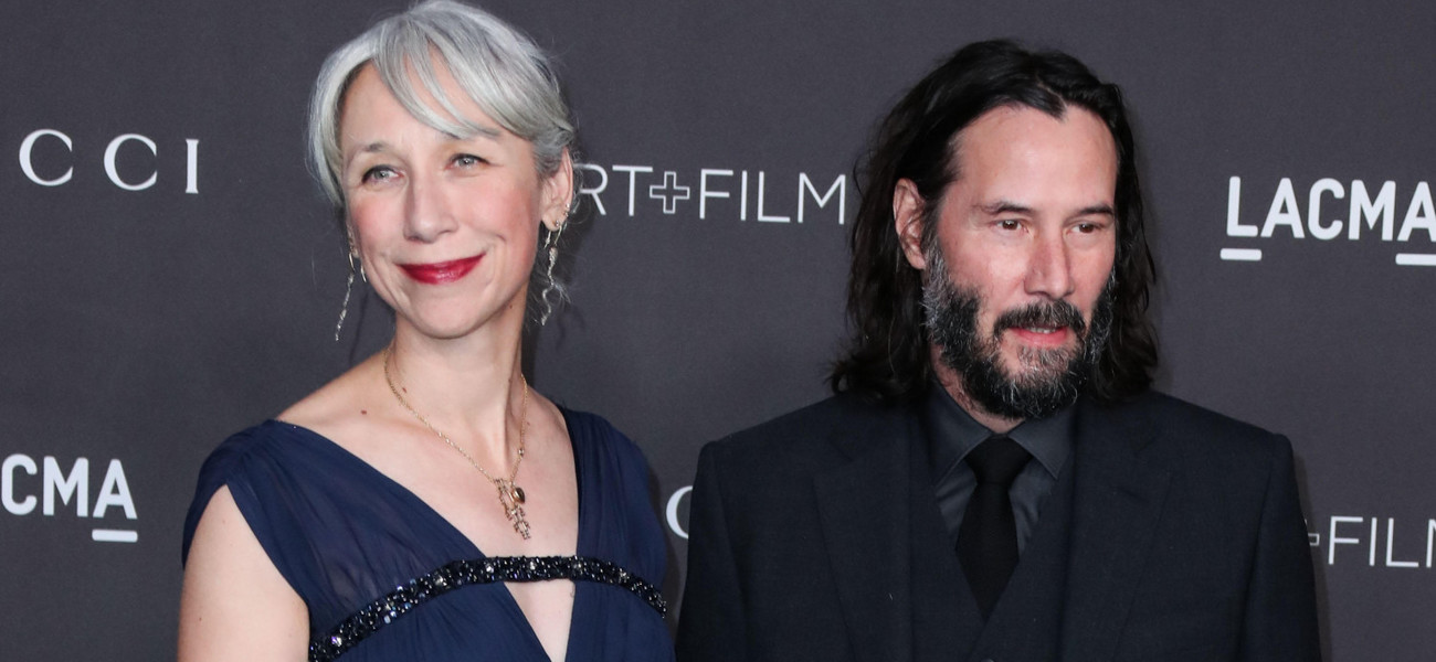 Gala LACMA w Los Angeles, Alexandra Grant i Keanu Reeves / ImagePressAgency/face to face/FaceToFace/REPORTER / East News