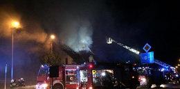 Wielki pożar dawnej restauracji. Podpalenie?