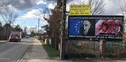 Wrocław. Kontrowersyjne banery przeciwników aborcji. Sprawa znajdzie finał w sądzie?