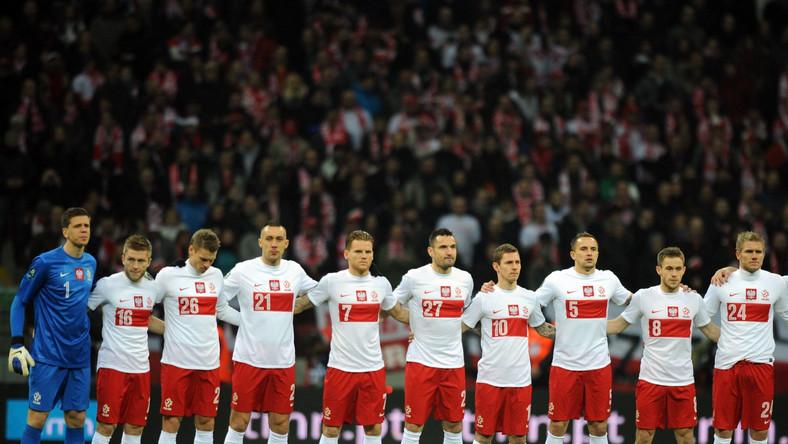 Reprezentacja Polski przed meczem towarzyskim z Portugalią