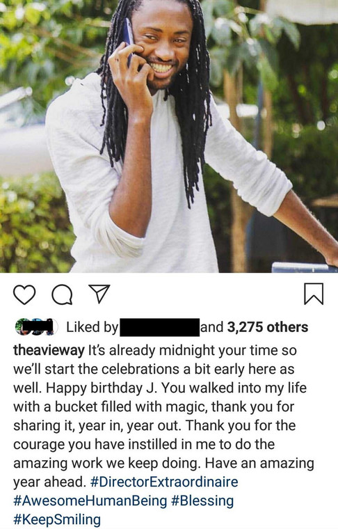 Avril excites fans with sweet message to J Blessing (Courtesy)