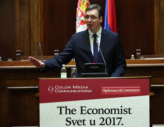 Aleksandar Vučić danas u Skupštini Srbije