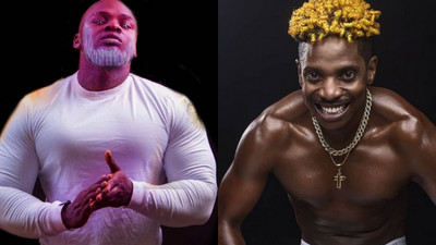 """Khaligraph Jones throws shade at Eric Omondi after his Muscles """"disappeared mysteriously"""""""