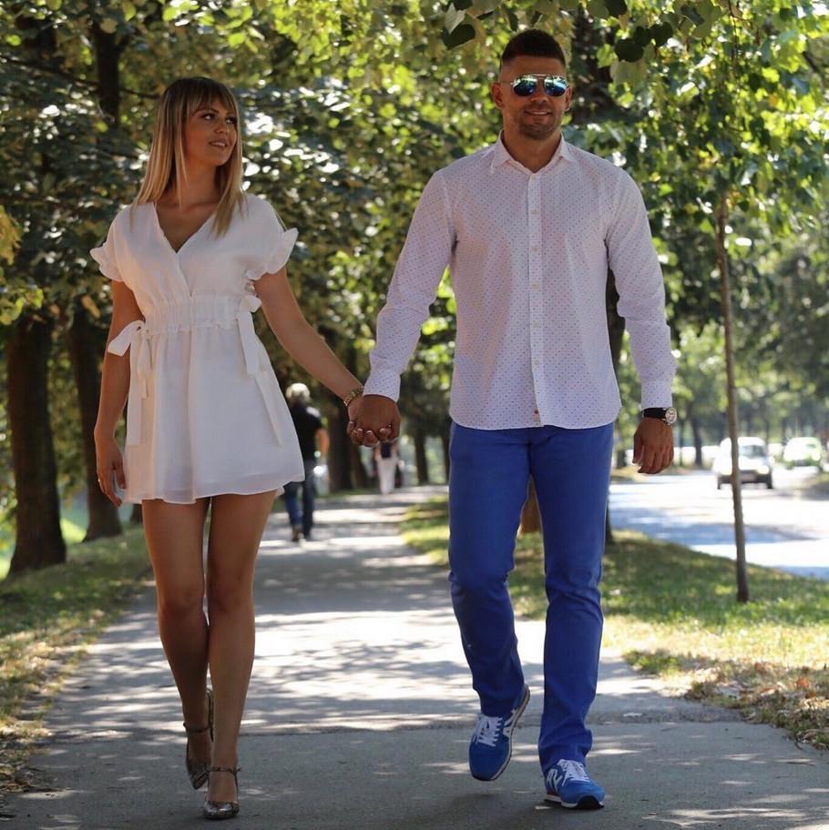Elvedina Šehić sa suprugom