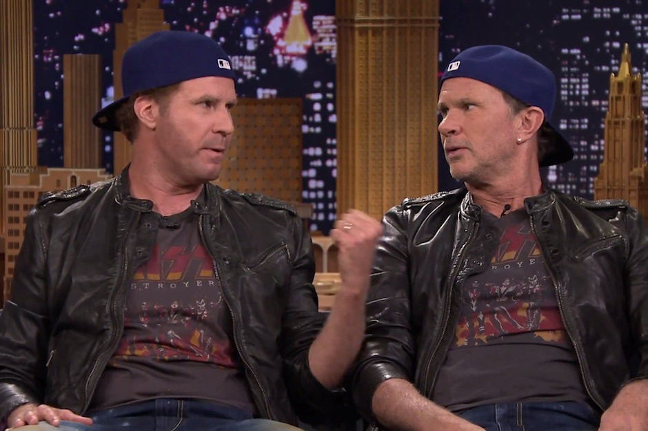 Will Ferrell i Chad Smith (Red Hot Chili Peppers)