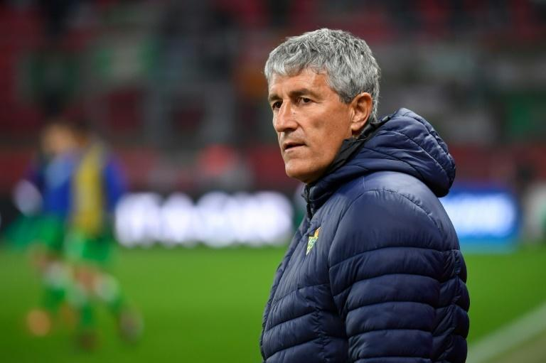 Quique Setien left Real Betis at the end of last season
