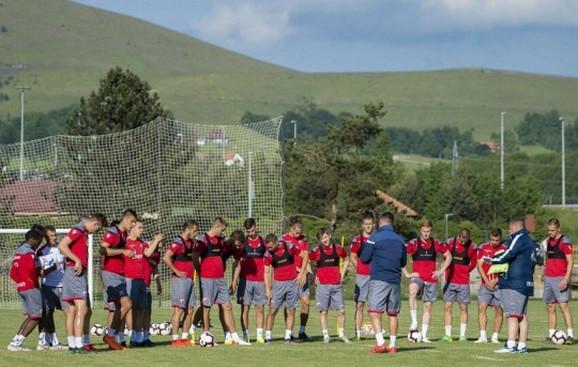 Fudbaleri Crvene zvezde na pripremama u Austriji