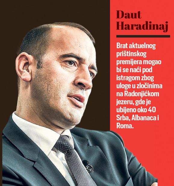 Postavlja se pitanje i da li će se Ramuš Haradinaj pridružiti bratu Dautu na sudu. Pitanje je da li je iko spreman da svedoči protiv njega, kažu izvori