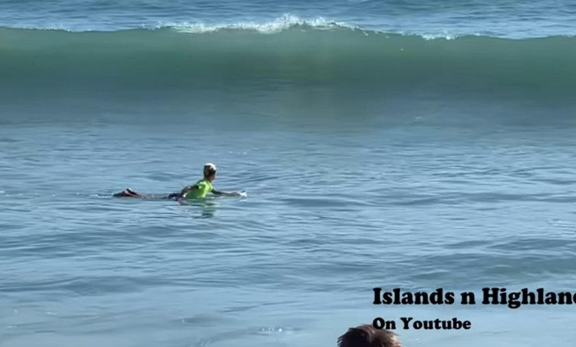 USA. Rekin zaatakował 11-letniego surfera