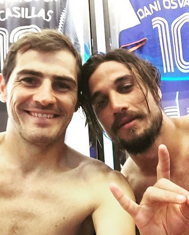Iker Kasiljas i Dani Osvaldo