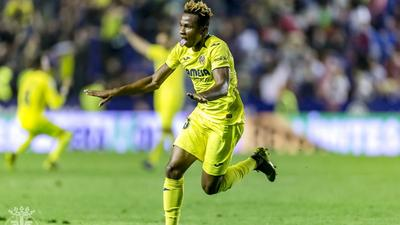 Nigerian Players Abroad: Ighalo on target in China, Chukwueze scores a stunner and Iwobi gets a big win