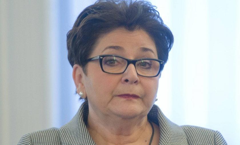 Teresa Piotrowska, minister spraw wewnętrznych