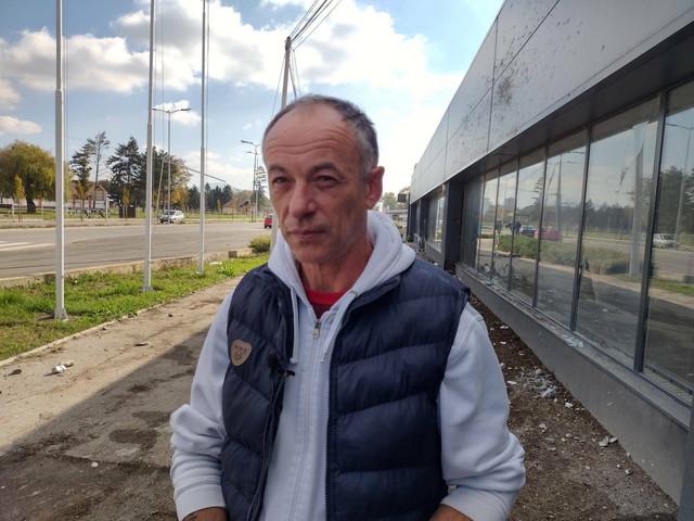 Slaviša Savić, očevidac nesreće