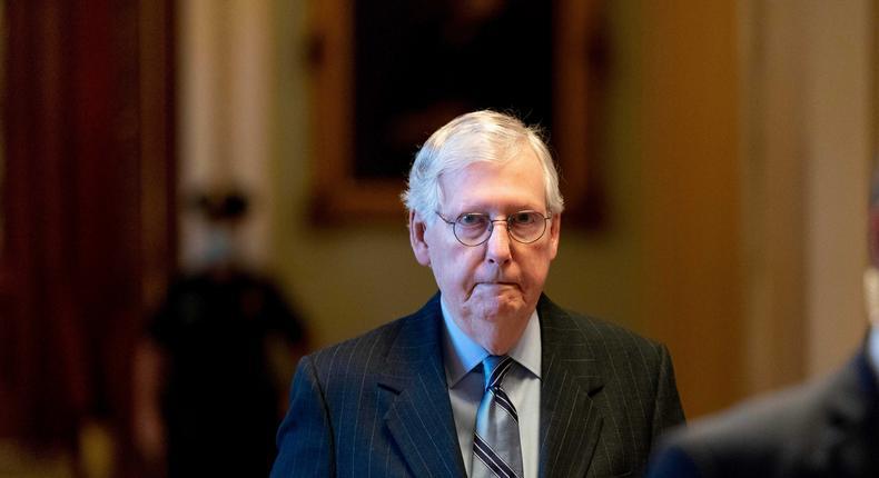 Senate Minority Leader Mitch McConnell of Kentucky.