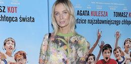 Młodzieżowa Agnieszka Szulim na premierze