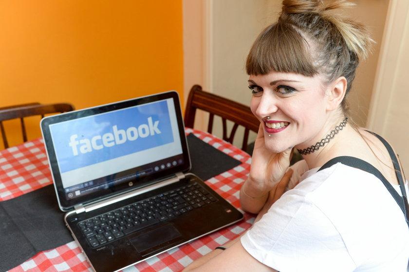 Zmieniła imię i nazwisko na pseudonim, żeby mieć dostęp do Facebooka