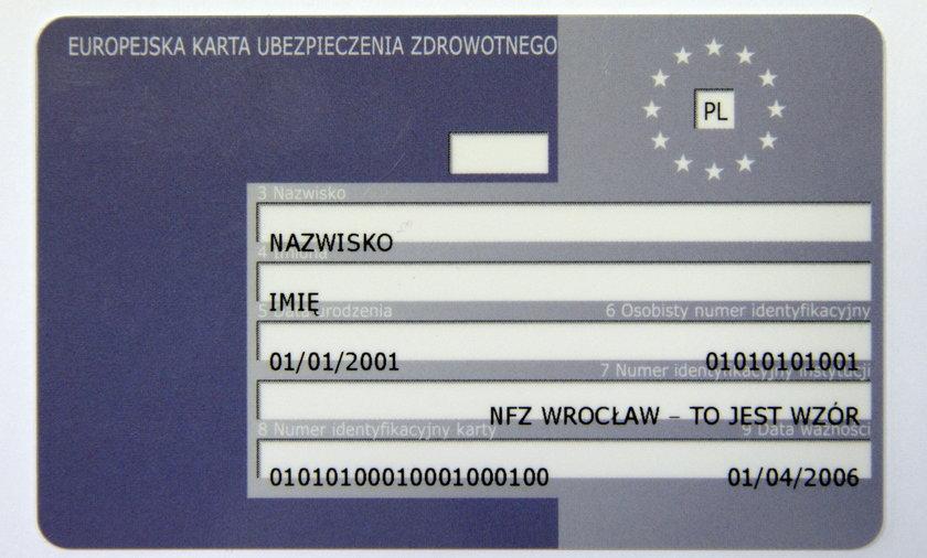 Jak zamówić kartę EKUZ przez internet? Od 1 października zmieniają się zasady występowania o kartę.