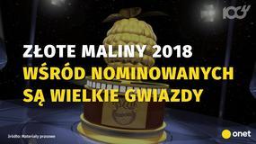 Nominacje do Złotych Malin 2018: oto najgorsze filmy roku