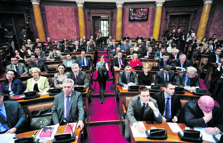 Skupština Srbije, glasanje