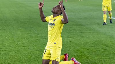 Samuel Chukwueze's brace for Villarreal at the weekend shows he's gradually getting back to his best