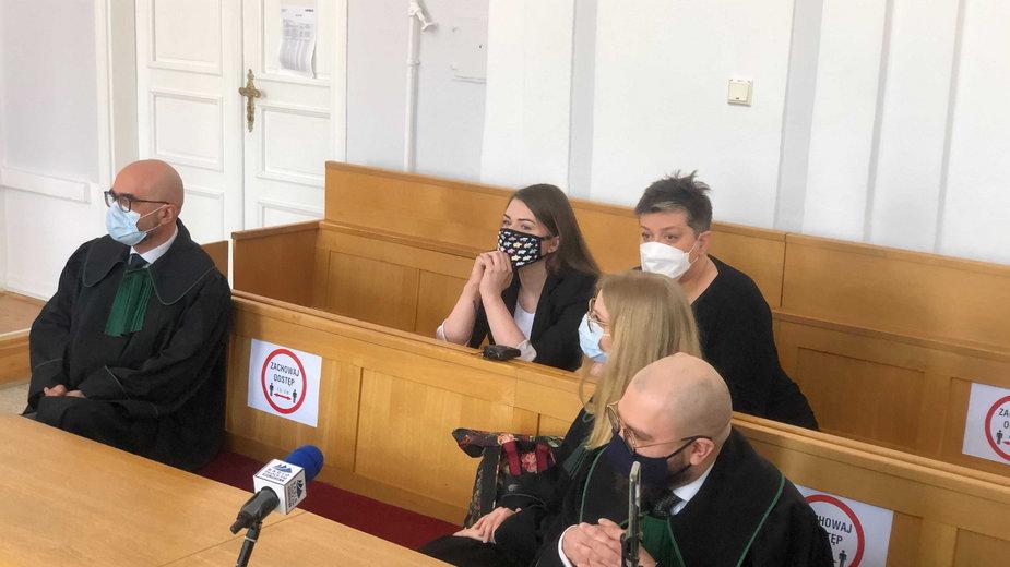 Rozprawa w sądzie w Płocku