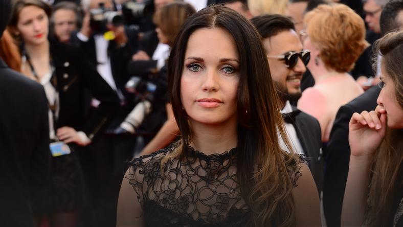 Anna Prus W Cannes Polka Na Czerwonym Dywanie Moda
