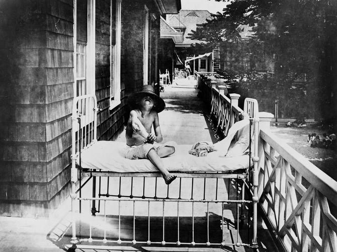 Dete obolelo od tuberkuloze u Njujorku, 1915.