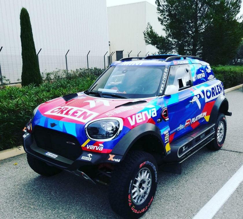 – A to dlatego, bo w tym roku mój samochód przygotował najlepszy mechanik w zespole X-Raid, o którego walczyłem od kilku lat. To Portugalczyk, Felipe - mówi Przygoński