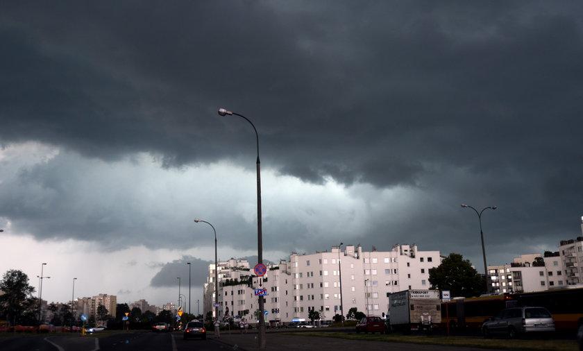 Burze przejdą nad całą Polską.