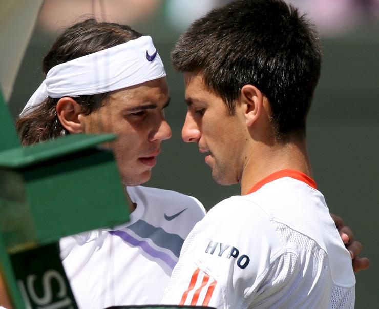 Novak Đoković i Rafael Nadal u 2007. godini