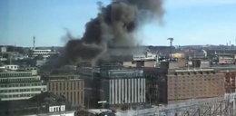 Potężna eksplozja w stolicy Szwecji. Wybuchł autobus